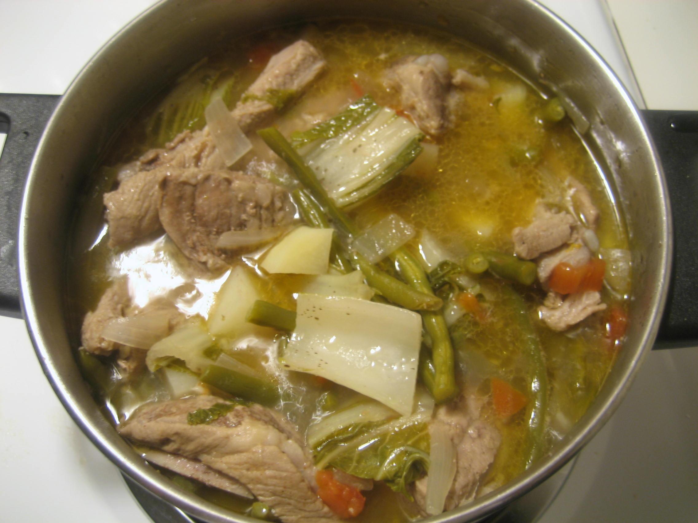 Filipino (Pinoy) Style Lentil Soup | Manila Spoon |Filipino Soup Dishes